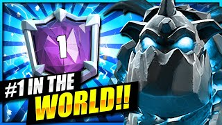 WORLD'S #1 HIGHEST RANKED DECK!! BEST LAVA LOON DECK in Clash Royale