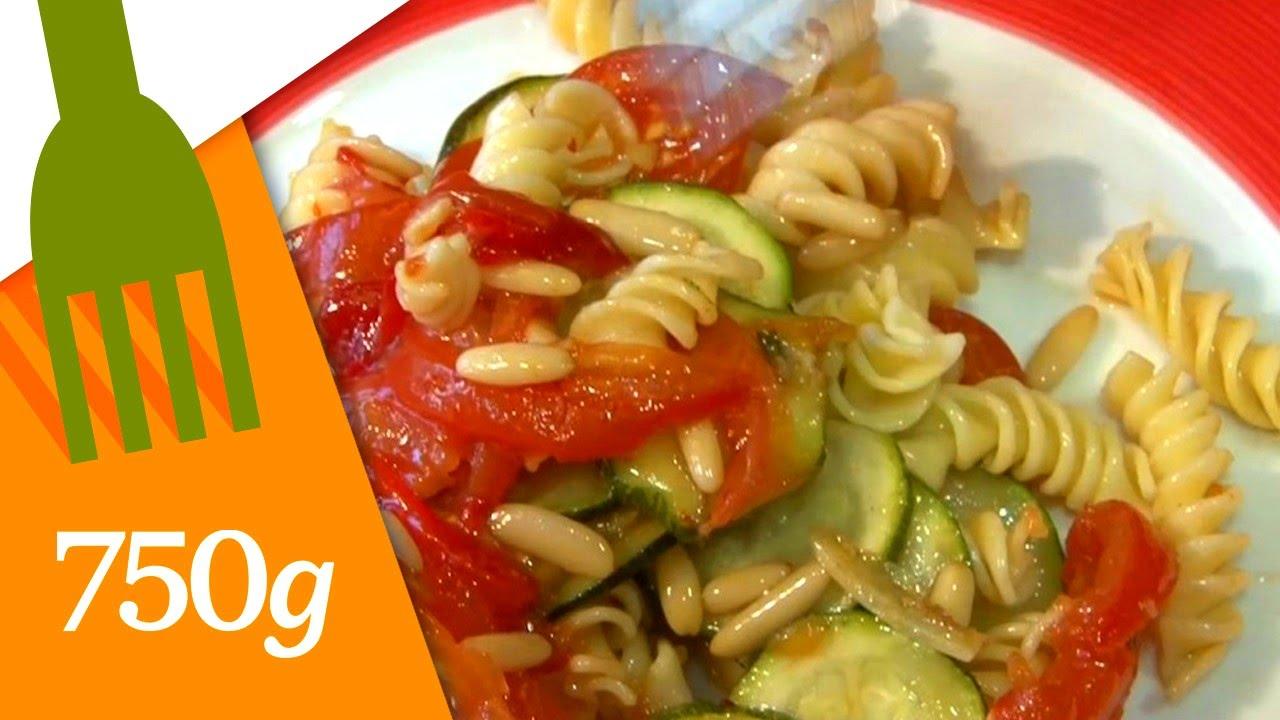 Recette Salade de pâte à l' italienne - 750 Grammes - YouTube