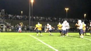 FOOTBALL: E.J. Montgomery 80-yard touchdown pass to Kyle Mitchell