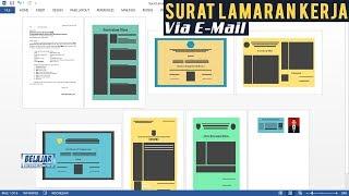 Cara Membuat Surat Lamaran Kerja Paling Rapi Dikirim Via Email