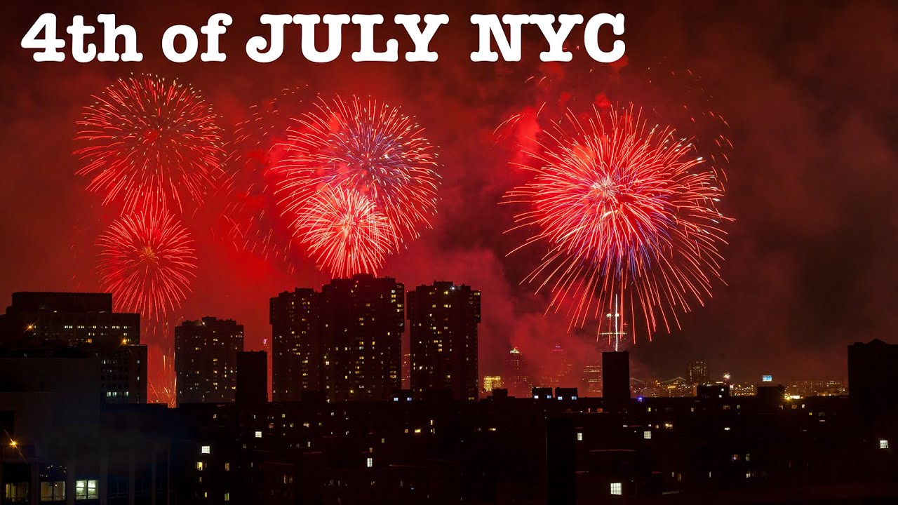 NYC marks Independence Day with Macy's Fourth of July fireworks ...