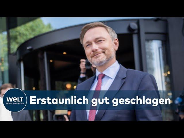 AMPEL LEUCHTET GELB: Kritik an Sondierung - Zukünftige Opposition schwingt sich ein   WELT Analyse