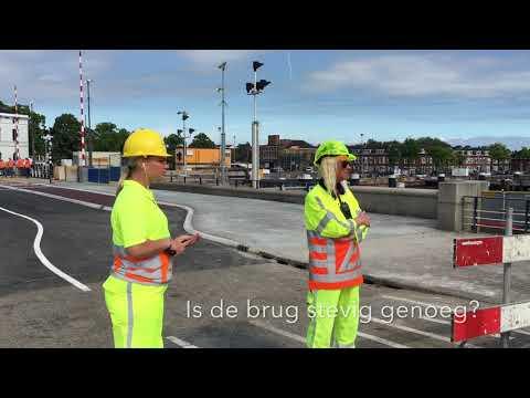 Wilheminabrug Zaandam weer open