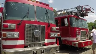Old Detroit fire trucks, other vehicles head to Redford Township auction