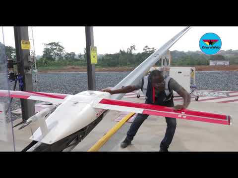 World's largest medical drone delivery network takes flight in Ghana