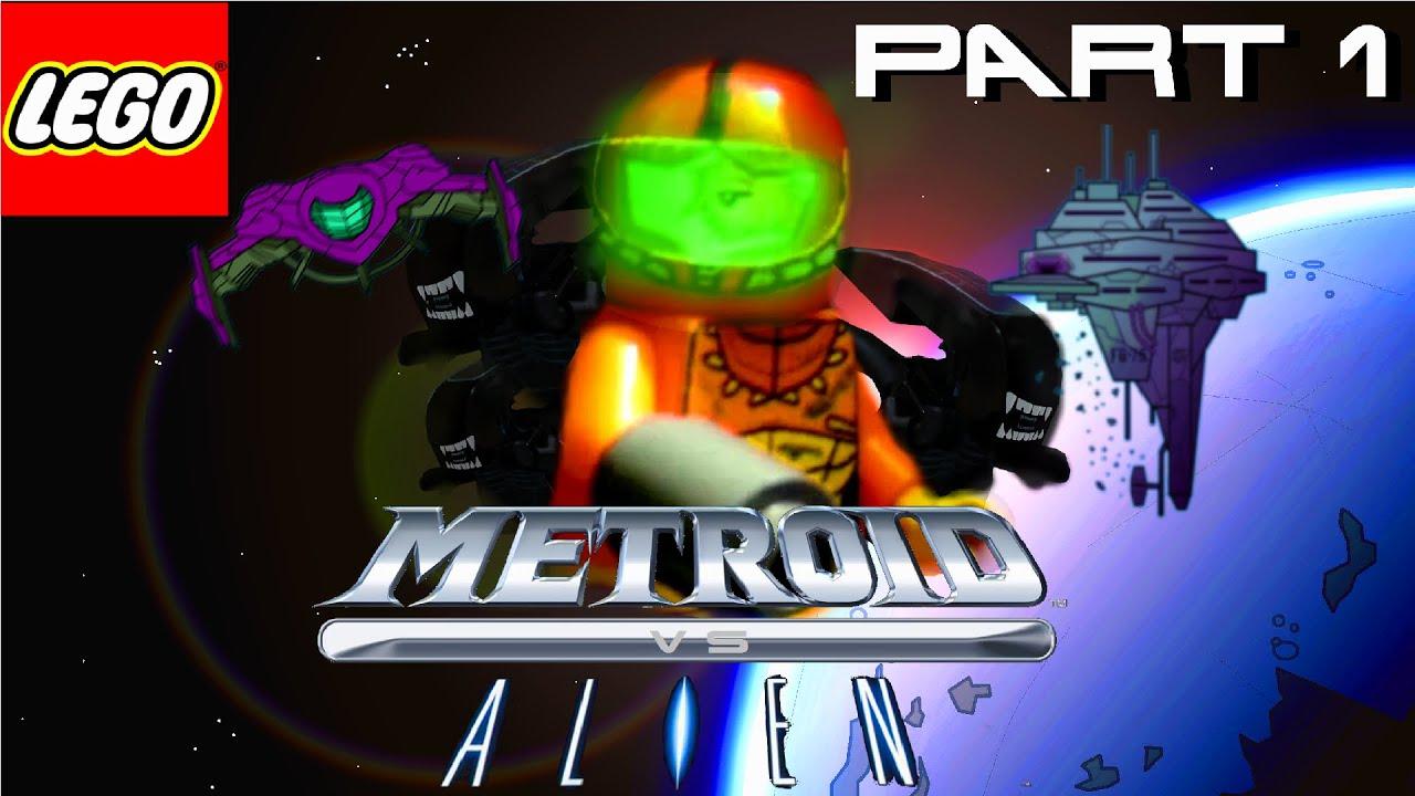 LEGO METROID VS ALIEN PART 1 - YouTube