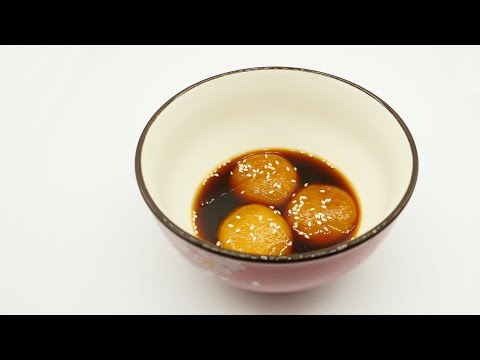 sticky-rice-cake-in-brown-sugar-sauce-authentic-sichuan/szechuan-food-recipe-#40-紅糖軟粑