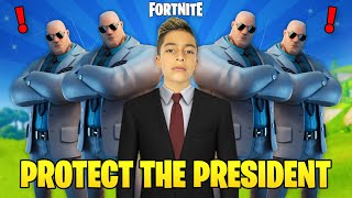 FERRAN is the PRESIDENT in Fortnite! He Needs Protection 😱 | Royalty Gaming