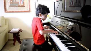 PER ELISA Di L.V. BEETHOVEN Esegue Giovanni Paolo al Pianoforte (7 anni)