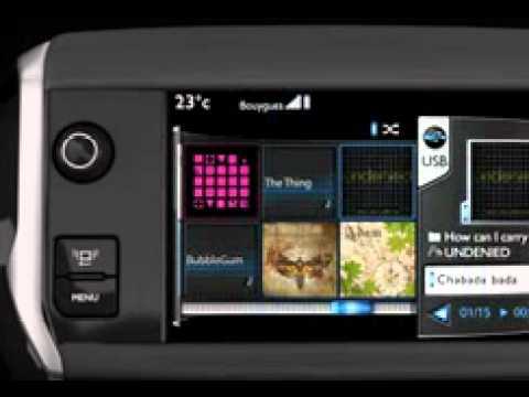 peugeot 208 - touchscreen - youtube
