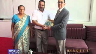 Quran gifted to Sri Lankan governor