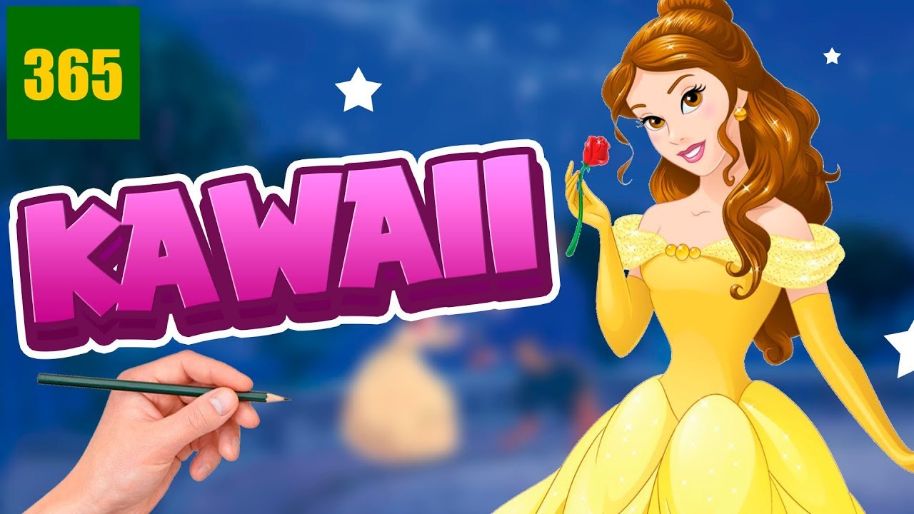 Comment Dessiner Belle Kawaii Etape Par Etape Dessins Kawaii