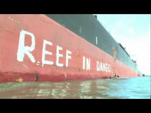 """Reef at Risk"" in Gladstone"