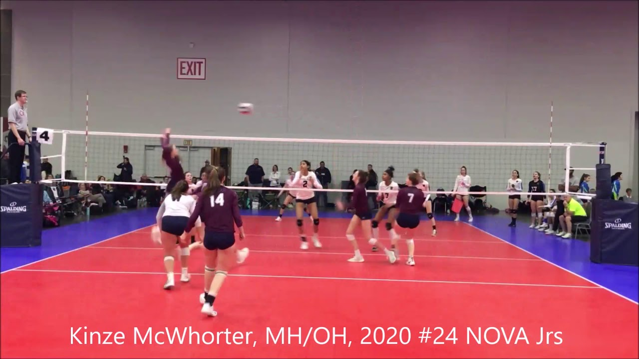 Kinze Mcwhorter S Women S Volleyball Recruiting Profile