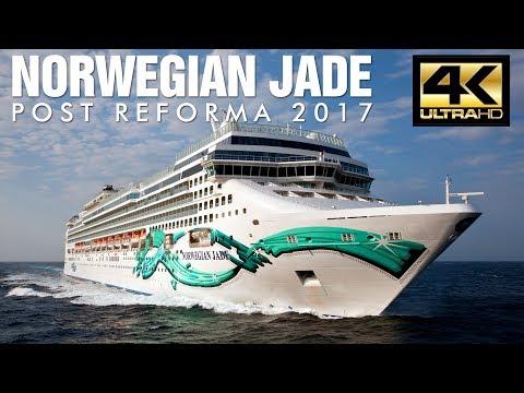 Norwegian Jade 2017 Tour - Norwegian Cruise Line [4K Ultra HD]