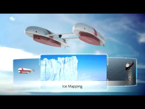 EADS unmanned Arctic hybrid airship