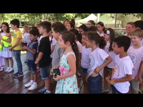 St. Mary's First School perform 'Let it grow'