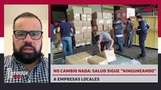 """No cambió nada: Salud sigue """"ninguneando"""" a empresas locales."""