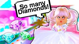 HOW TO GET LOTS OF FREE DIAMONDS ON EARTH 💎👑 // Roblox Royale High School