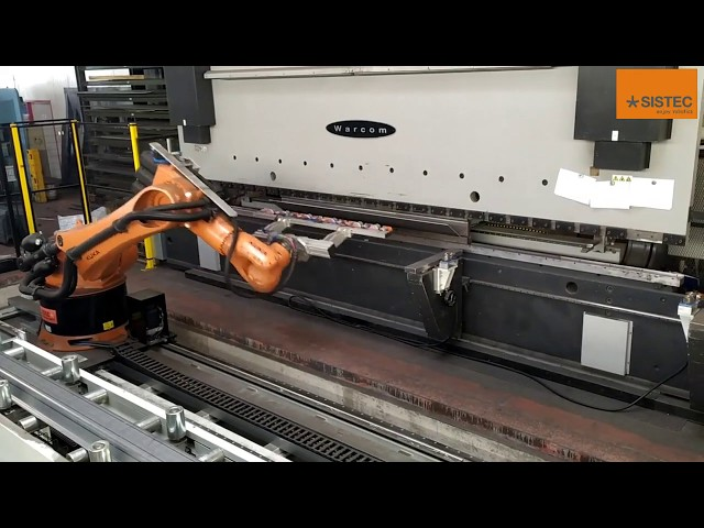 Sistema integrato di piegatura robotizzata  - Fully -integrated robotic bending system