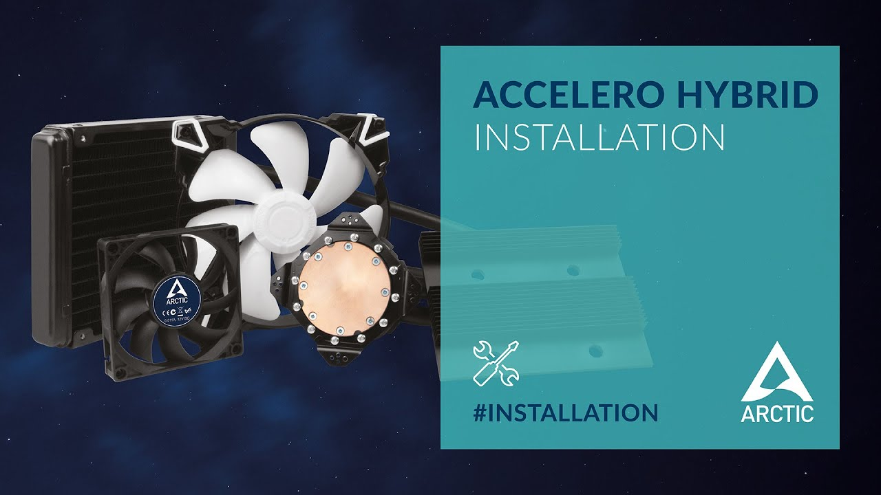 Repeat ARCTIC Accelero Hybrid installation video by ARCTIC