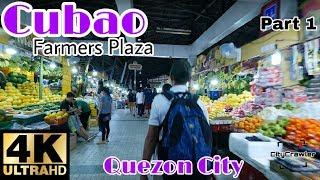 【4K】WOW! Cubao (Around Farmers Plaza), Quezon City Part 1