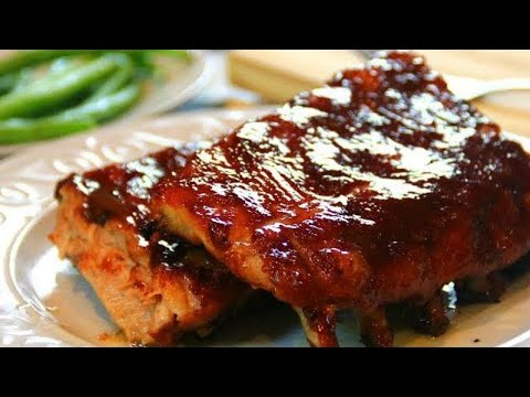 Delicious Oven Baked Pork Ribs - Fall Off The BONE