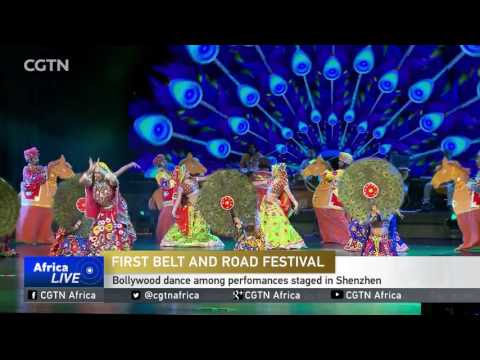 Bollywood dance among perfomances staged in Shenzhen