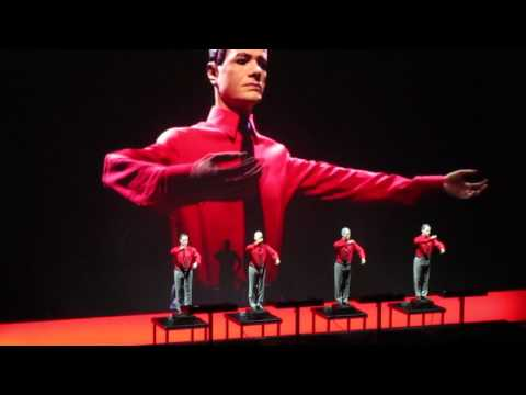 Kraftwerk The Robots live at Liverpool Philharmonic Hall 11th June 2017