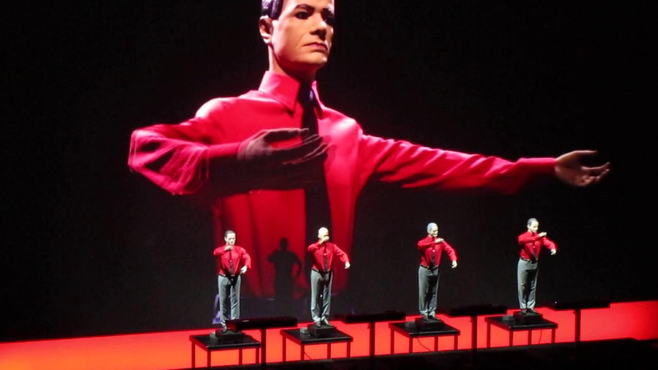 Kraftwerk The Robots live at Liverpool Philharmonic Hall ...Kraftwerk The Robots