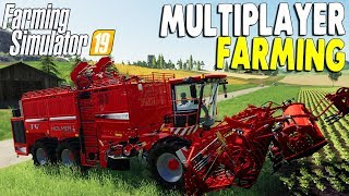 OUR $3,500,000 FARM EQUIPMENT IN ACTION | Farming Simulator 19 Gameplay