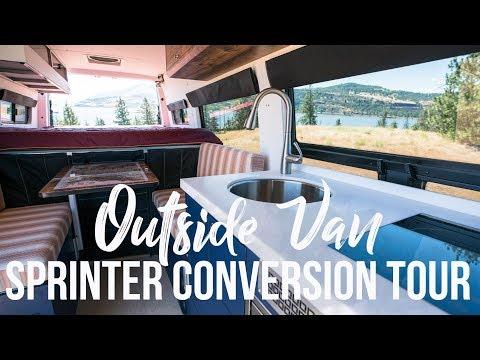 4x4 Sprinter Van Conversion - Built by Outside Van for Off-Grid Adventures