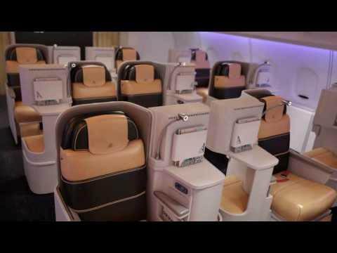 Alitalia business Class - 3D Animation