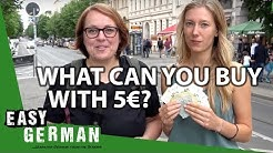 What can you buy with 5€ in Germany? | Easy German 251