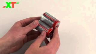 Батарейка солевая «НАША СИЛА» R20 (D, 1,5 В, Китай)