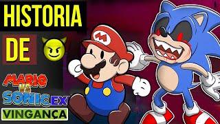 SONIC EXE ACABOU com TODOS 😈| Super Mario vs Sonic.exe 3