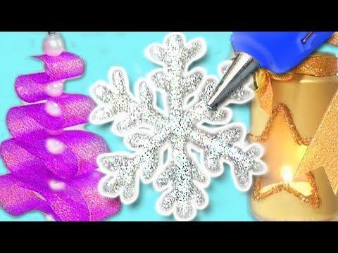 3 DIY CHRISTMAS DECORATIONS! Amazing DIY crafts for Christmas!