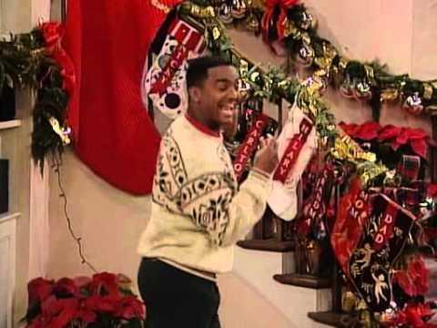 Merry Christmas Carlton Dance Fresh Prince of Bel Air - YouTube