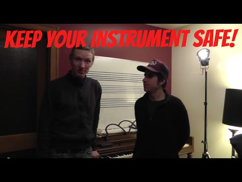 Keep Your Instrument Safe!