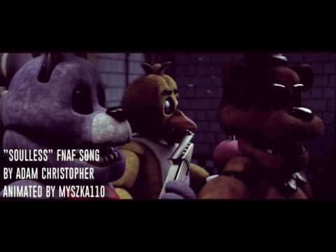 """Five night at freddy's sister location *song* """"SOULLESS"""""""