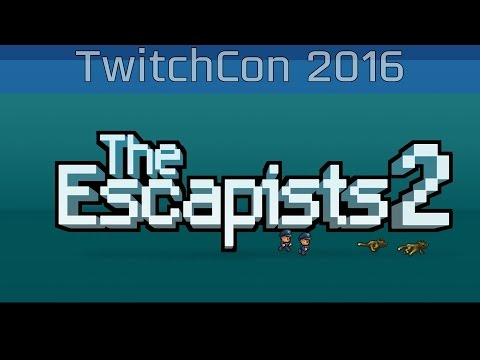 The Escapists 2 - TwitchCon 2016 Gameplay [HD/60FPS]