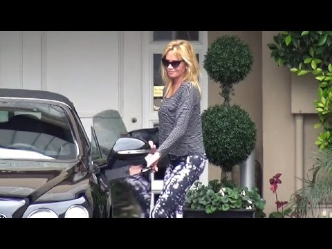 Melanie Griffith Looks Fresh-Faced Leaving Dermatologist
