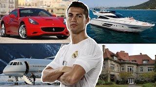 Cristiano Ronaldo ★ Evi ★ Arabaları ★ Özel Jeti ★ Yatı ★