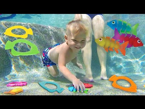 UNDERWATER TOY DIVING!!