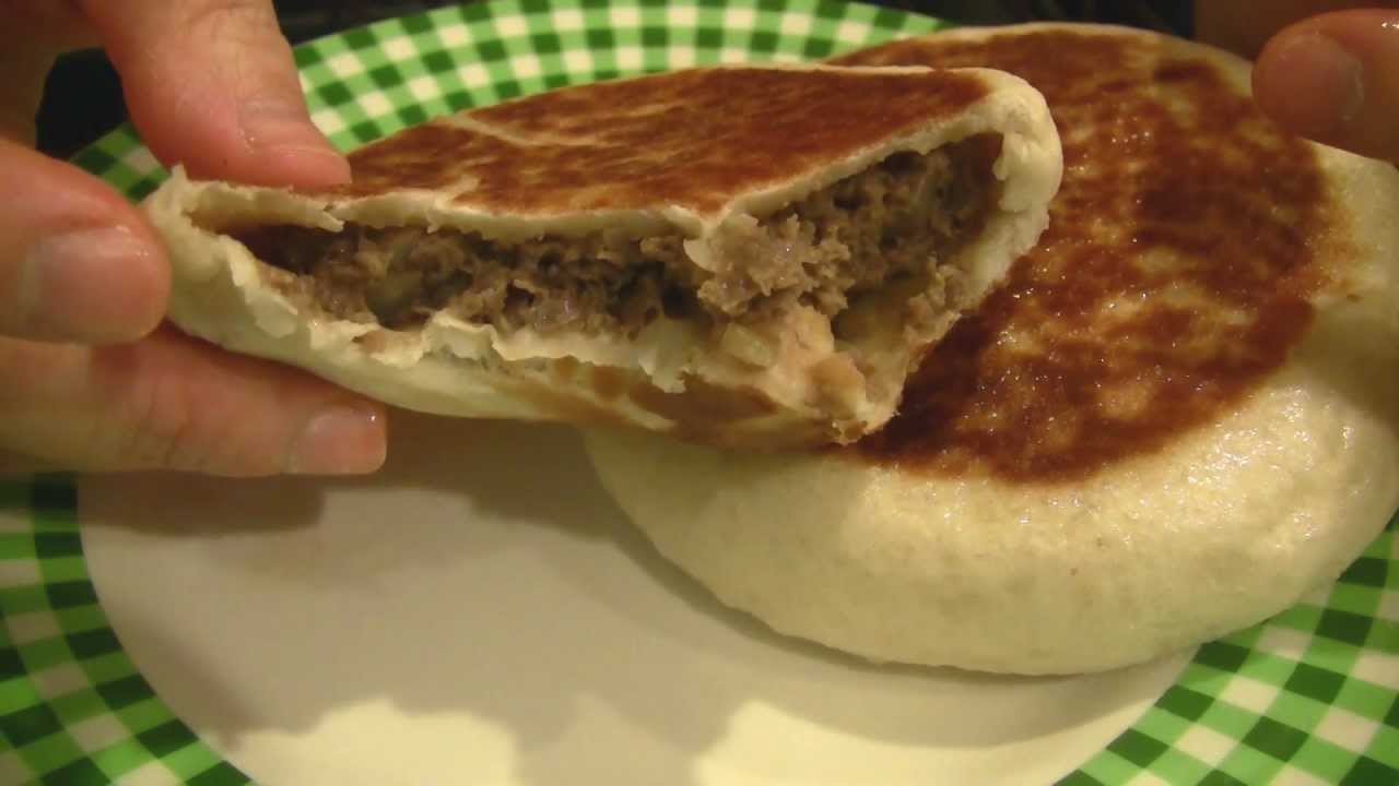O Hd Asmr Pan Fried Bun With Minced Beef Eating Sounds