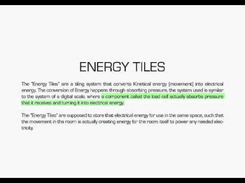 Energy Tiles - Philips Future Living Space