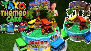How to make TAYO themed Cake Tayo The Little Bus Themed Cake
