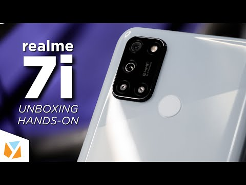 realme 7i Unboxing & Hands-On
