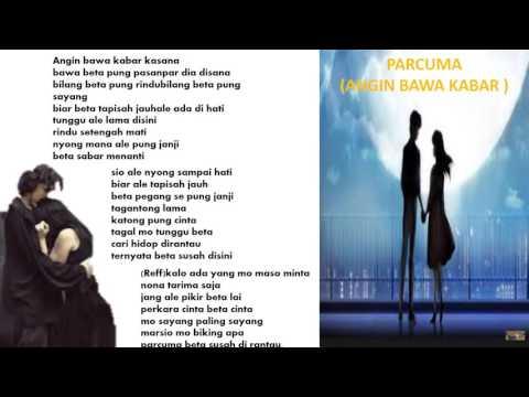 PARCUMA ( Angin Bawa Kabar ) - Pop Ambon