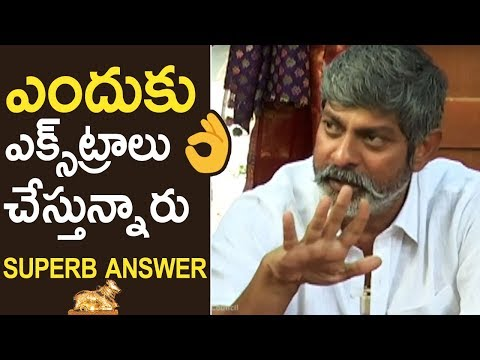 Jagapati Babu Superb Reply To Media Question About Nandi Awards Controversy | TFPC